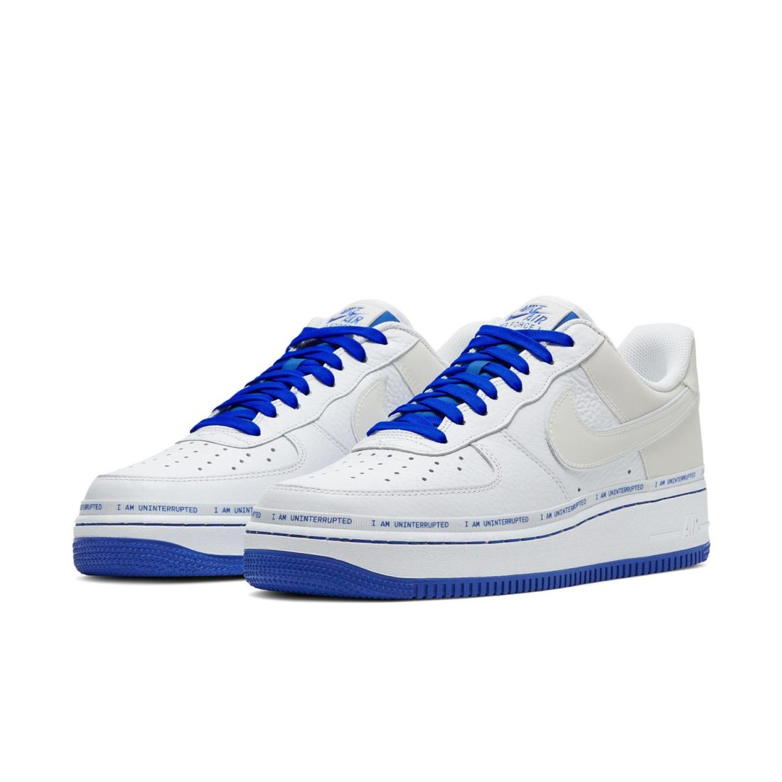 air force one bleu femme