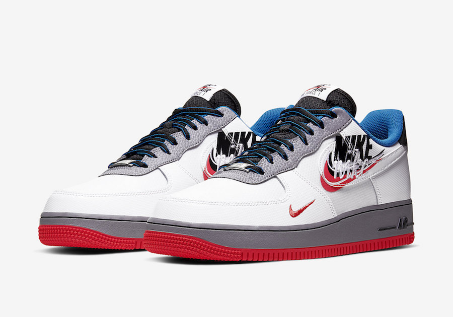 Preview: Nike Air Force 1 3D Swoosh Le Site de la Sneaker