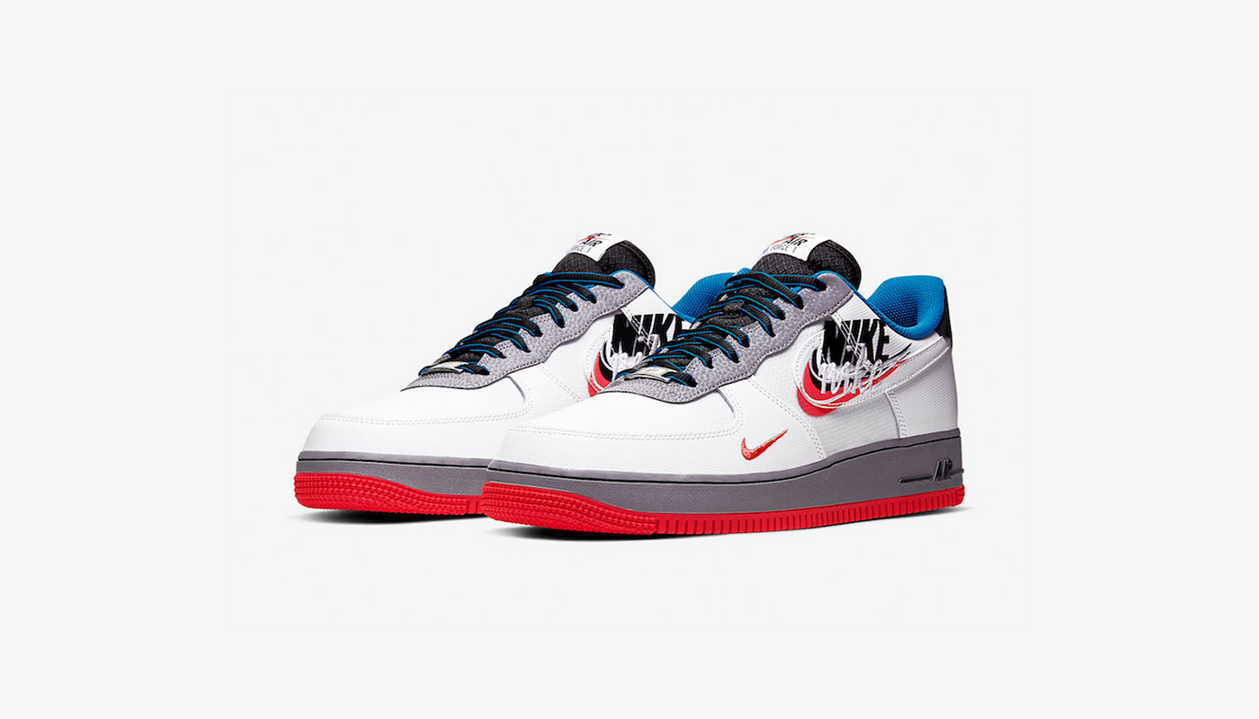"Preview: Nike Air Force 1 ""Script Swoosh"" White Blue Le"