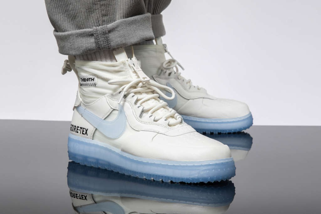 Nike Air Force 1 Winter Gore Tex Phantom White Le Site de