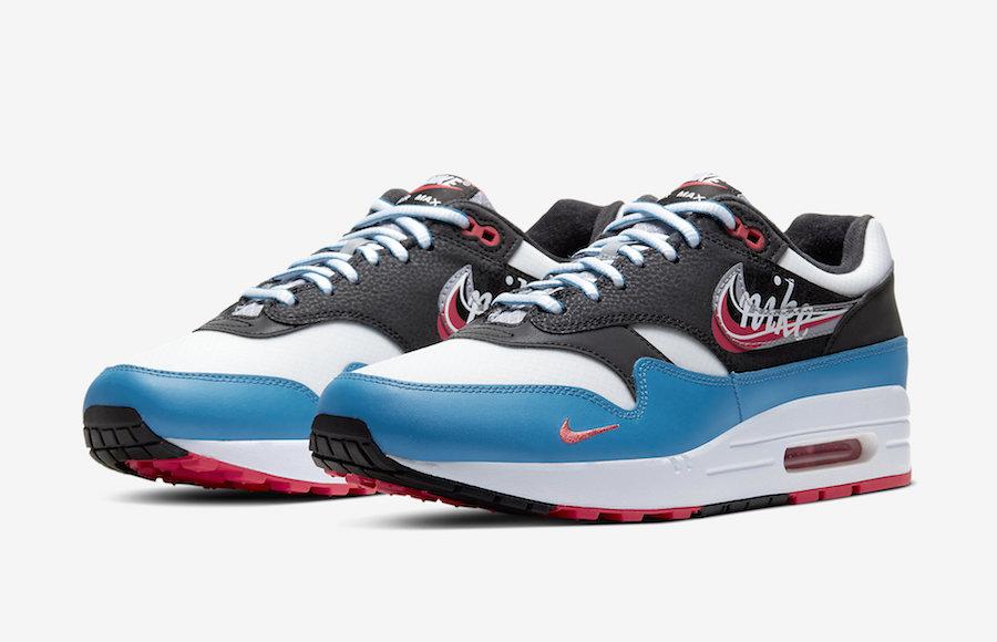 Preview: Nike Air Max 1 Script Swoosh Le Site de la Sneaker