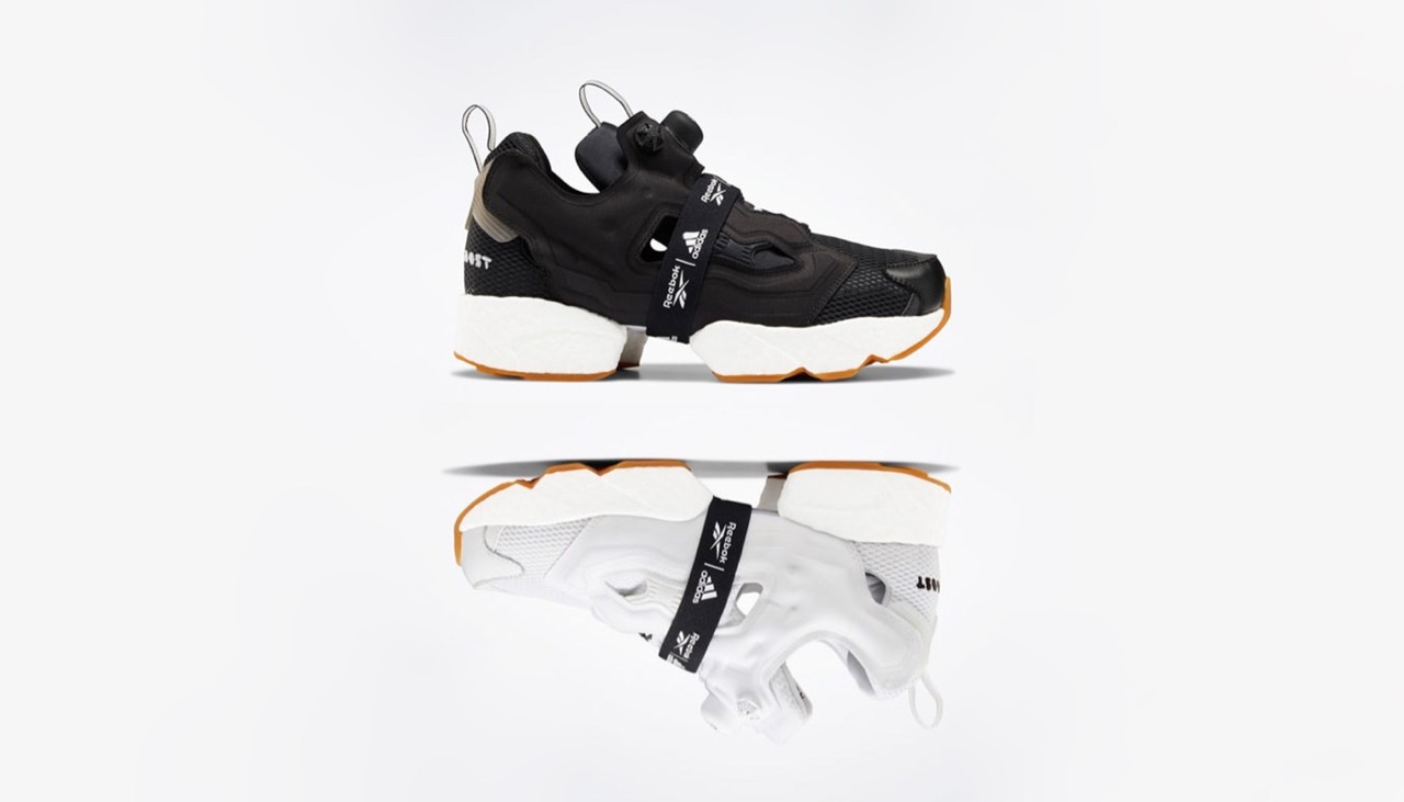 Reebok x adidas Instapump Fury Boost 'Black & White' Pack