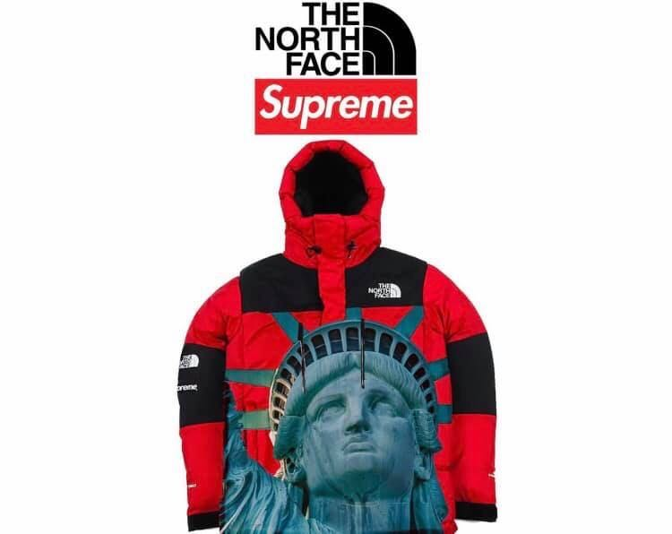 Premier aperçu de la collection Supreme x The North Face
