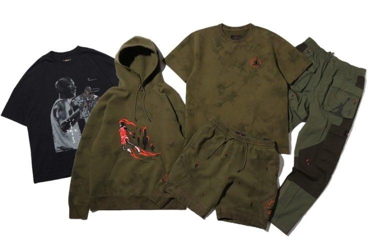 Travis Scott x Air Jordan 6 Apparel Collection Le Site de