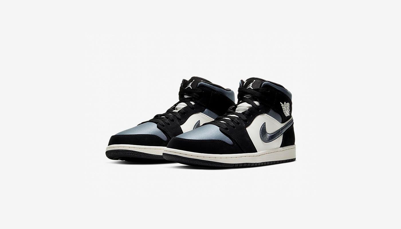 Une Air Jordan 1 Mid