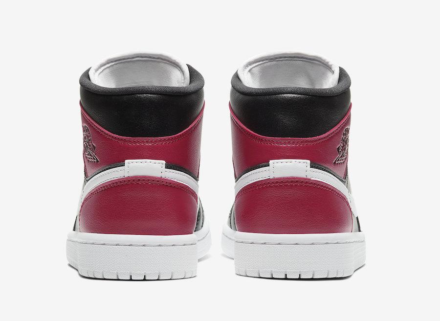 Preview: Air Jordan 1 Mid WMNS Noble Red Le Site de la Sneaker