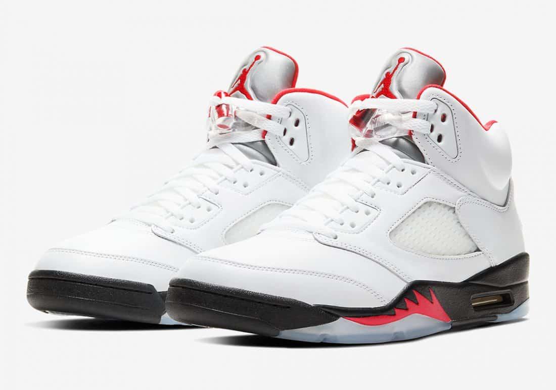 Air Jordan 5 Fire Red - Le Site de la Sneaker