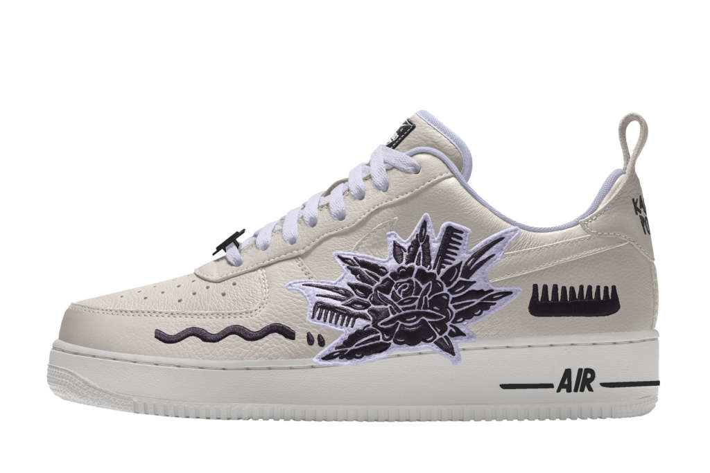 nike air force 1 low by you femme