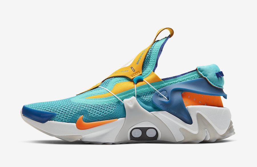wholesale price official images best sale Nike ADAPT Huarache Hyper Jade