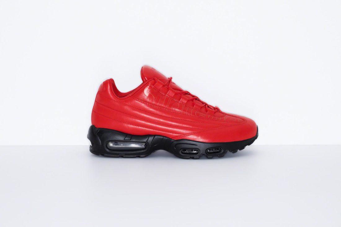 Supreme X Nike Air Max 95 Lux Collection - Le Site De La Sneaker