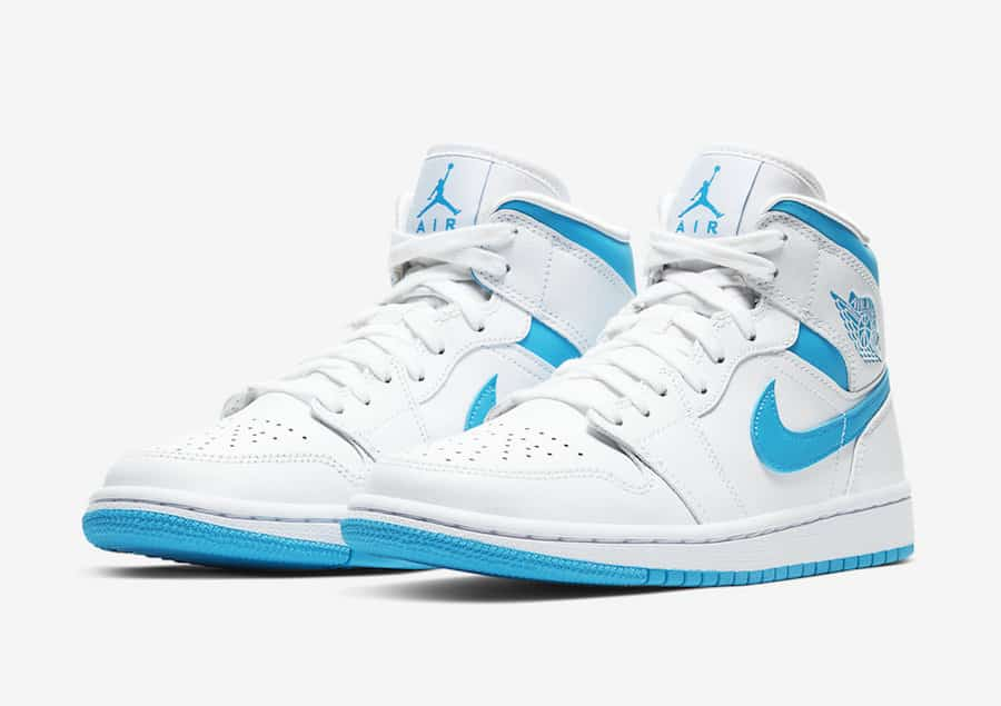 Preview: Nike Air Jordan Shoes Retro Mid UNC - Gov