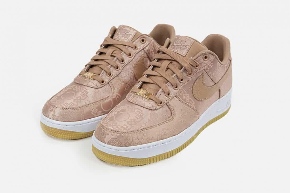 CLOT x Nike Air Force 1 Low 'Rose Gold'