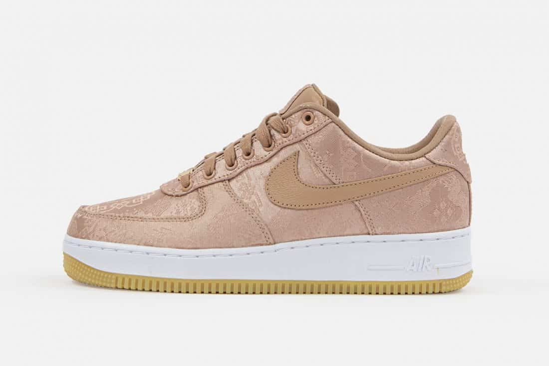 CLOT x Nike Air Force 1 Low 'Rose Gold'