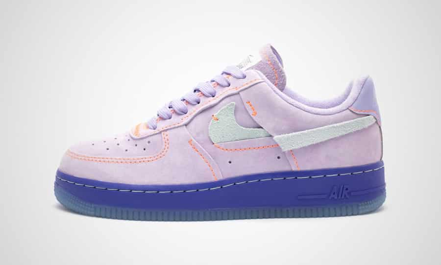 nike air force 1 mauve