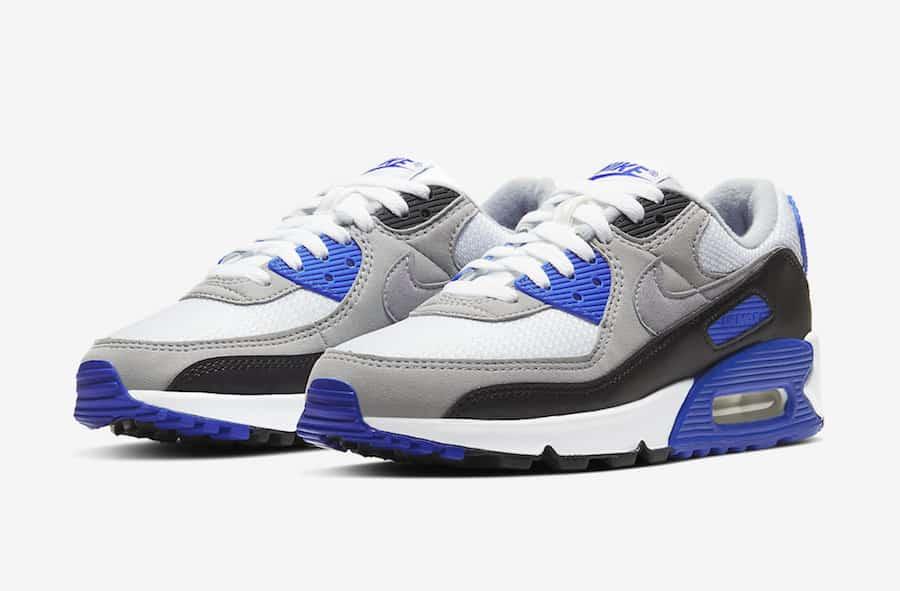 air max 90 bleue