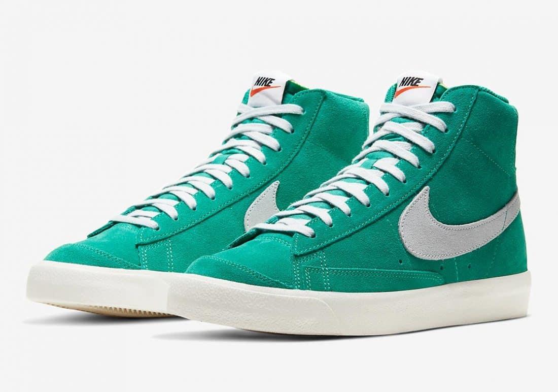 "Preview: Nike Blazer Mid Vintage '77 ""Nature Green"" - Gov"