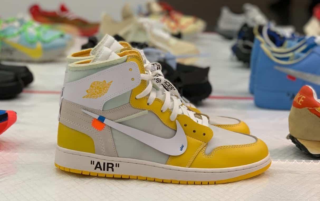 La Off White x Air Jordan 1 Canary Yellow pourrait sortir en