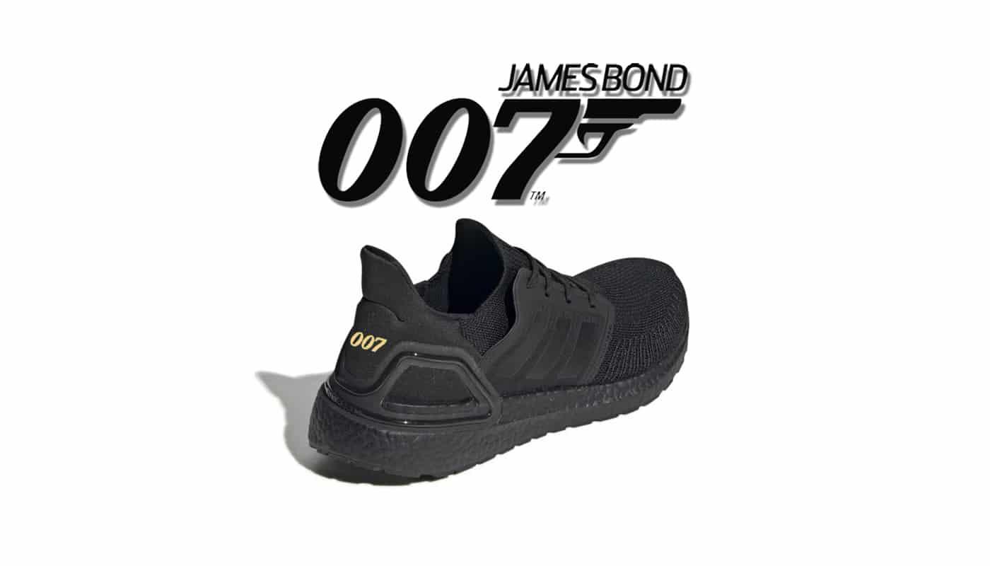 Une adidas UltraBoost 2020 en l'honneur de James Bond Le