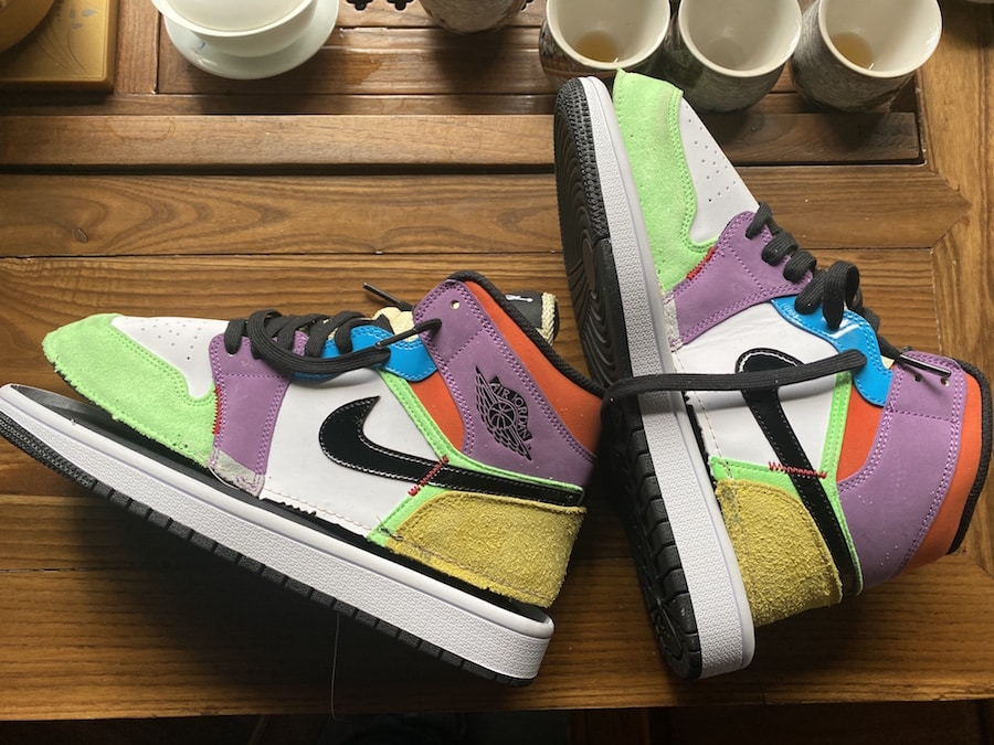 Preview: Air Jordan 1 Mid SE Multicolor Le Site de la Sneaker