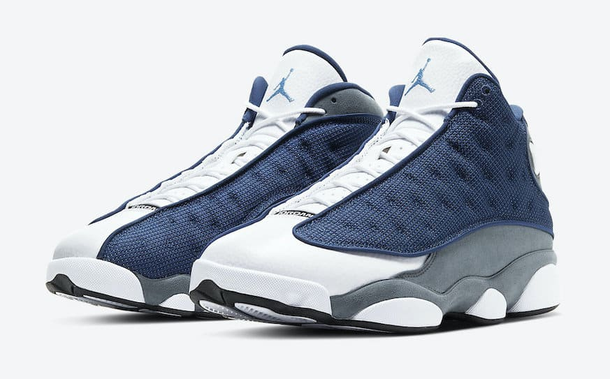 air jordan 13 bleu blanc
