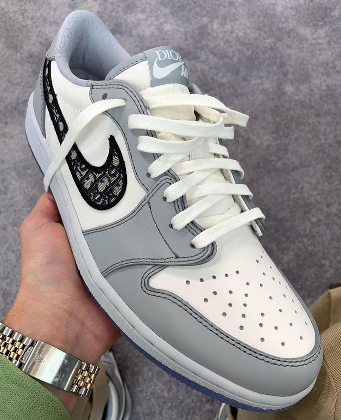 Une Dior x Air Jordan 1 Low à venir - Le Site de la Sneaker
