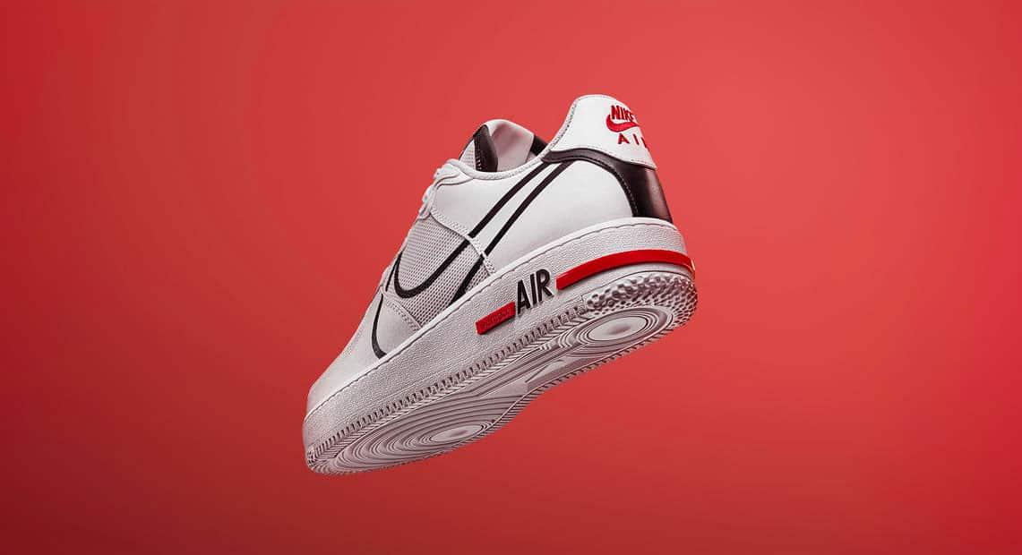 Nike Air Force 1 React D/MS/X White - Le Site de la Sneaker
