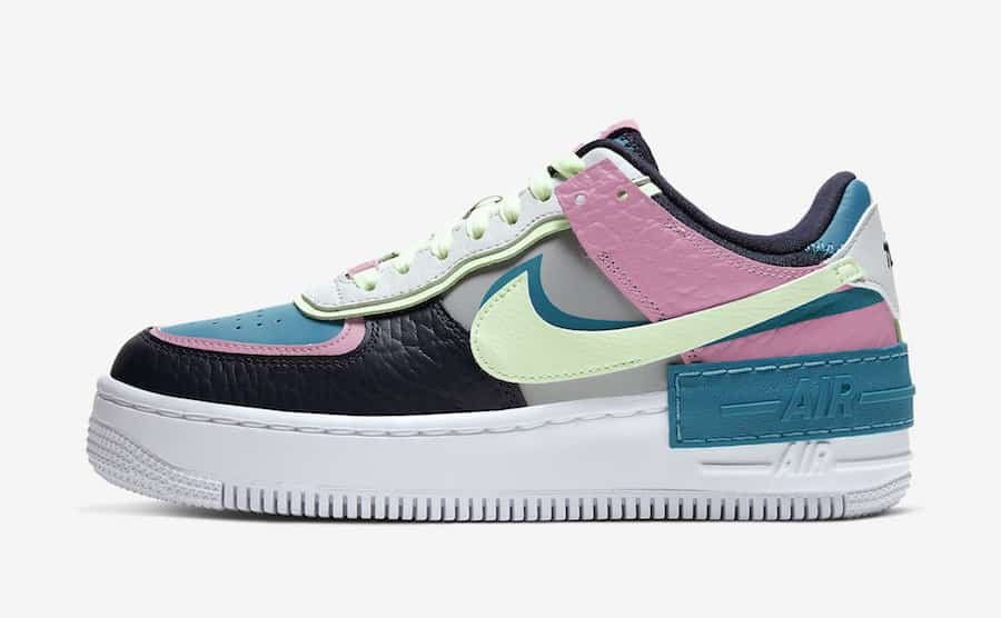 air force 1 shadow fluo