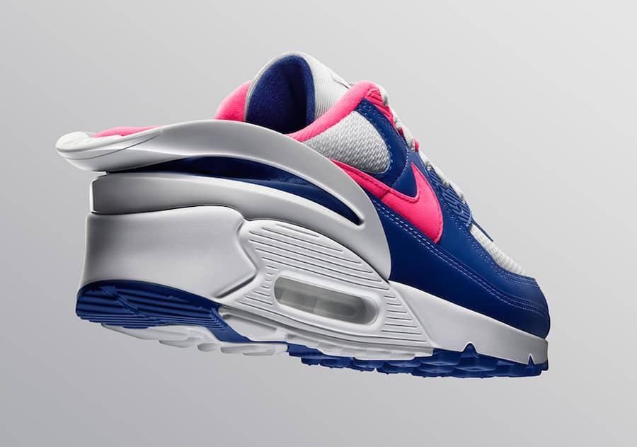 Nike Air Max 90 FlyEase Blue - Le Site de la Sneaker