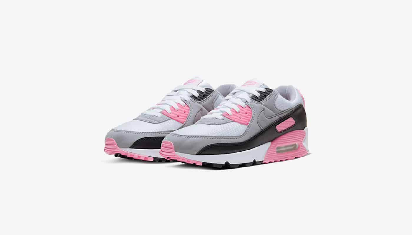 Nike Air Max 90 White Rose - Le Site de la Sneaker
