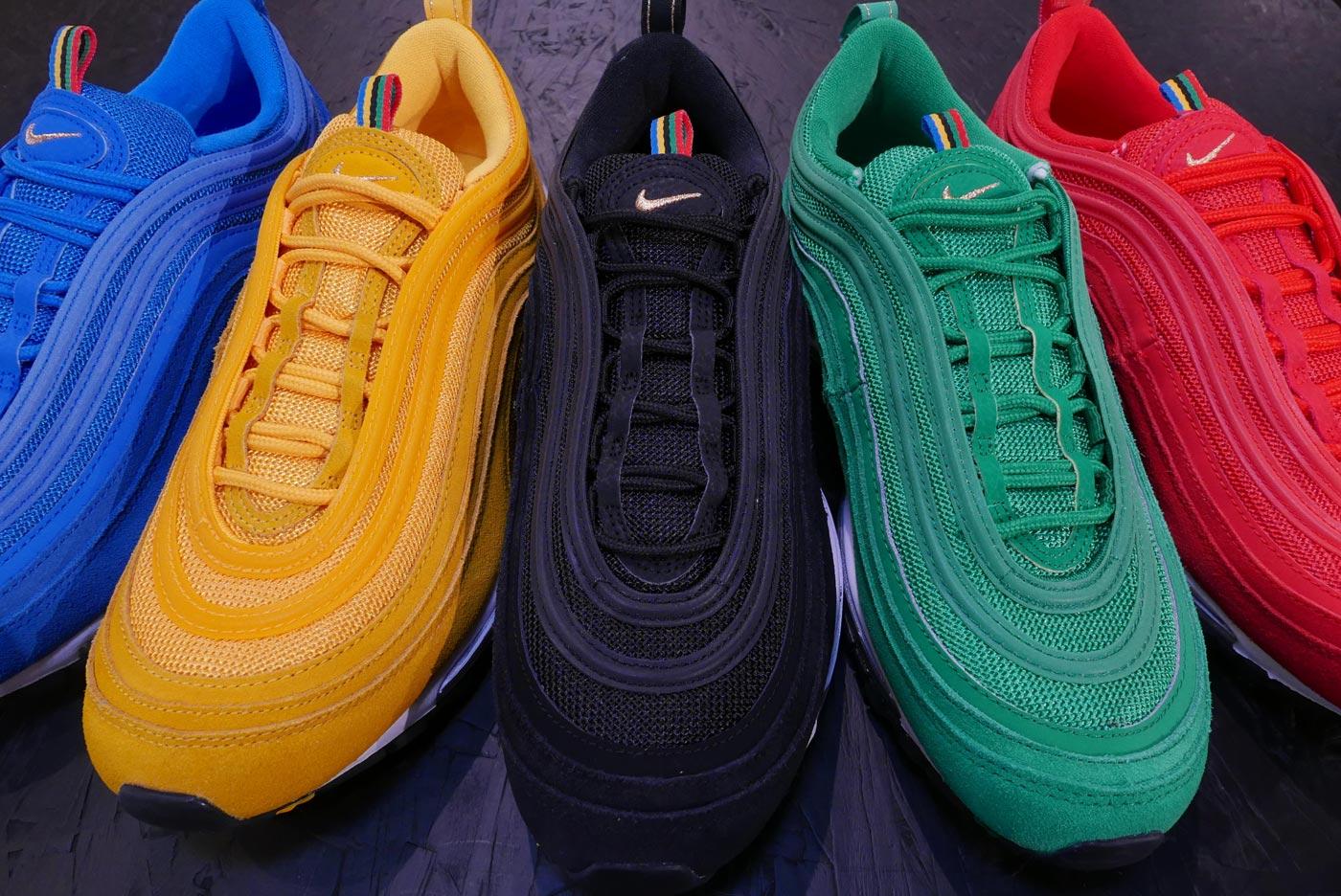 Nike Air Max 97 Olympic Rings Pack Le Site De La Sneaker