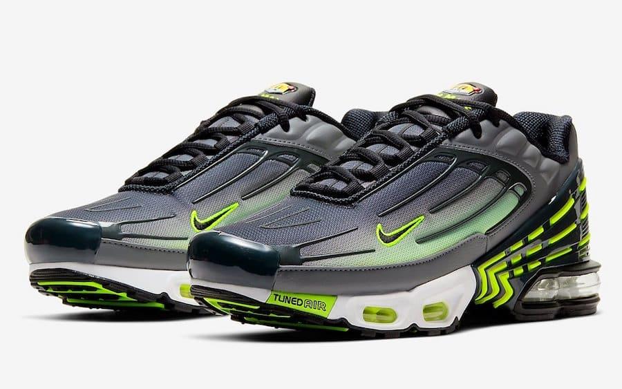 Preview: Nike Air Max Plus 3 Neon - Le Site de la Sneaker