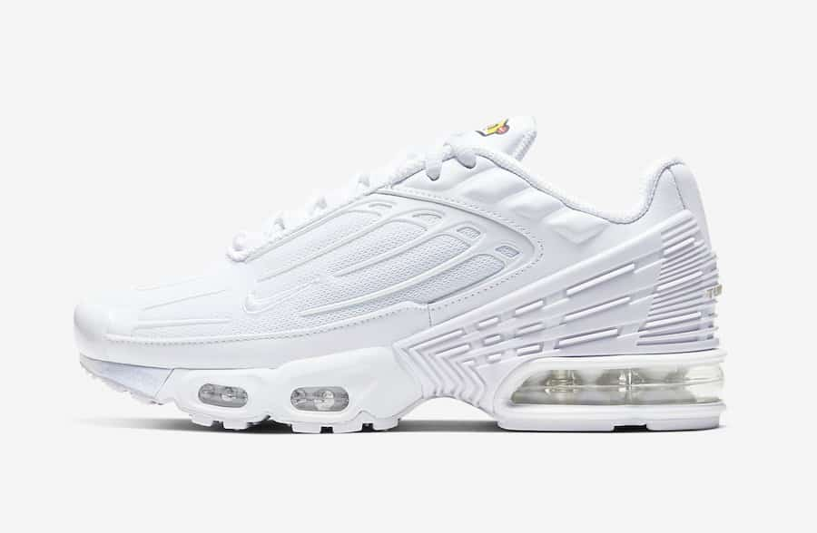 air max plus 3 blanche