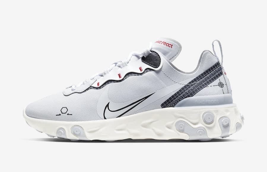 Deux nouvelles Nike React Element 55 Schematic - Le Site de la Sneaker