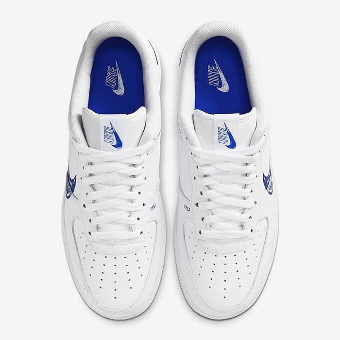 nike air force 1 low bleu