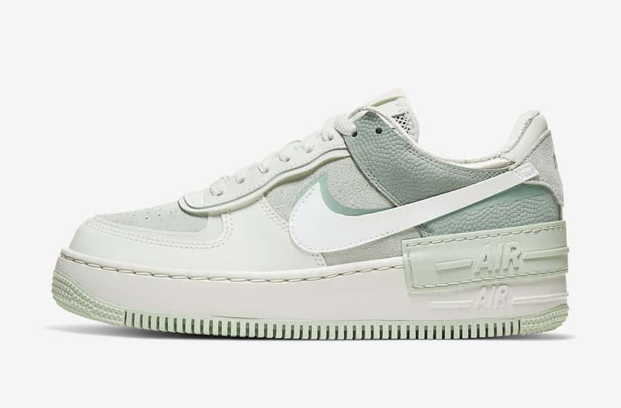 Preview: Nike Air Force 1 Shadow Pistachio Frost Le Site