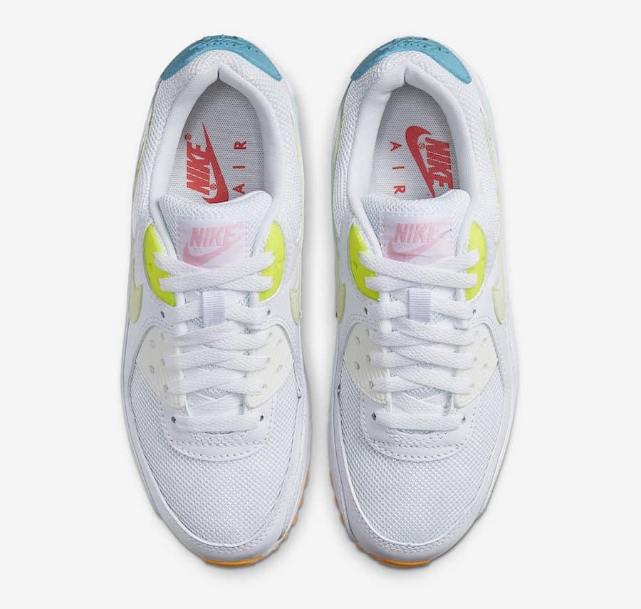 Nike dévoile la Air Max 90 White Pastel Le Site de la Sneaker