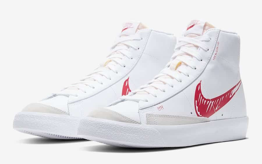 Nike imagine un Blazer Mid Sketch Pack - Le Site de la Sneaker