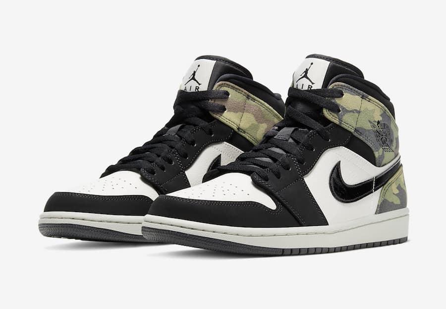 Preview: Air Jordan 1 Mid Camo Le Site de la Sneaker