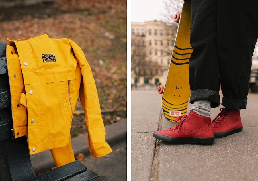 Nike SB Orange Label x Leo Baker Collection Le Site de la