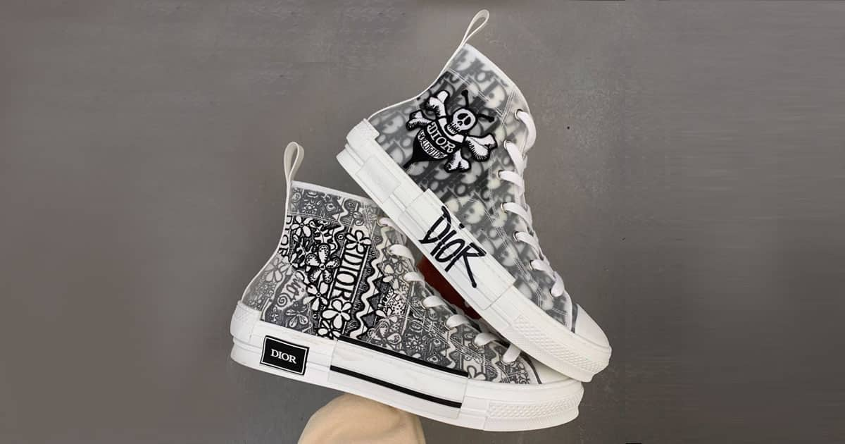 chaussures dior converse