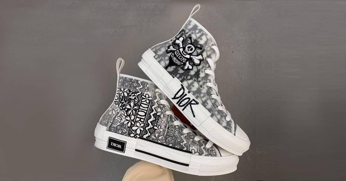 chaussure dior converse