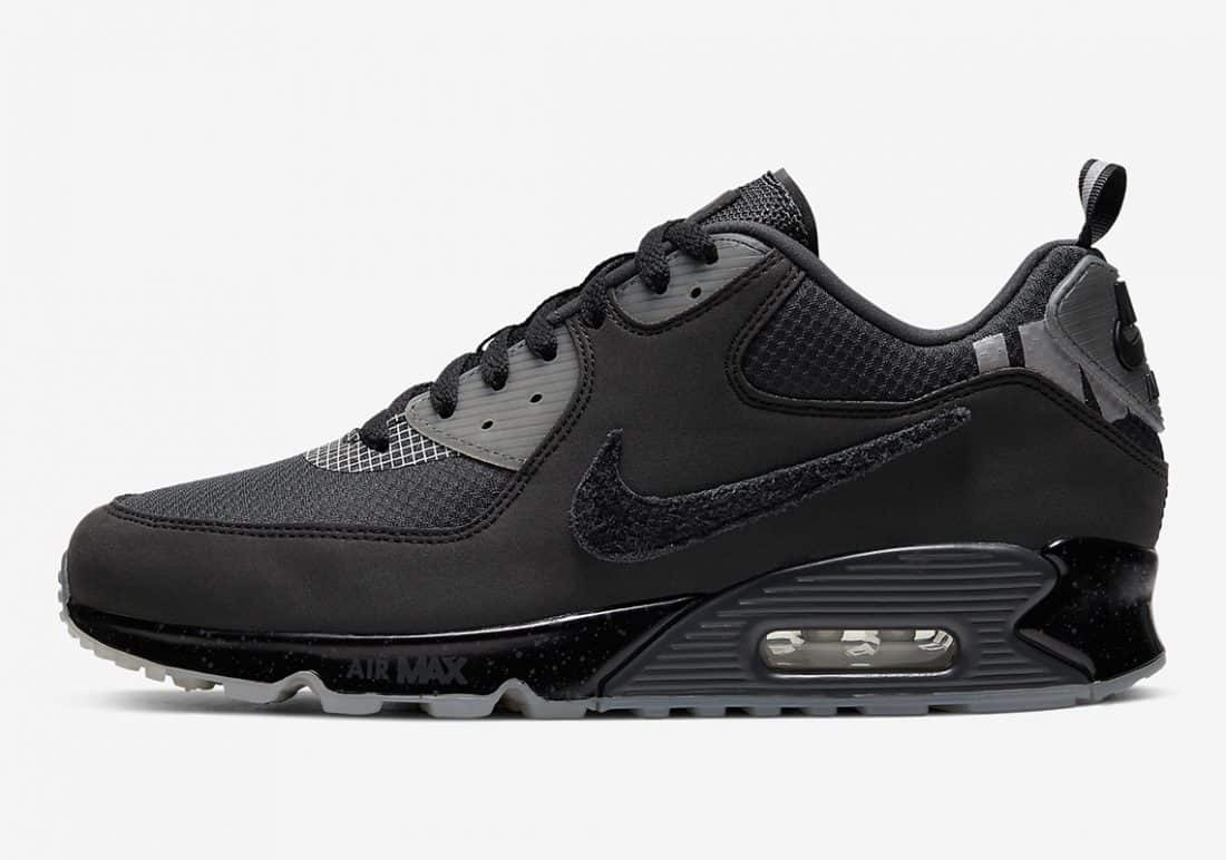 Undefeated x Nike Air Max 90 Black Anthracite