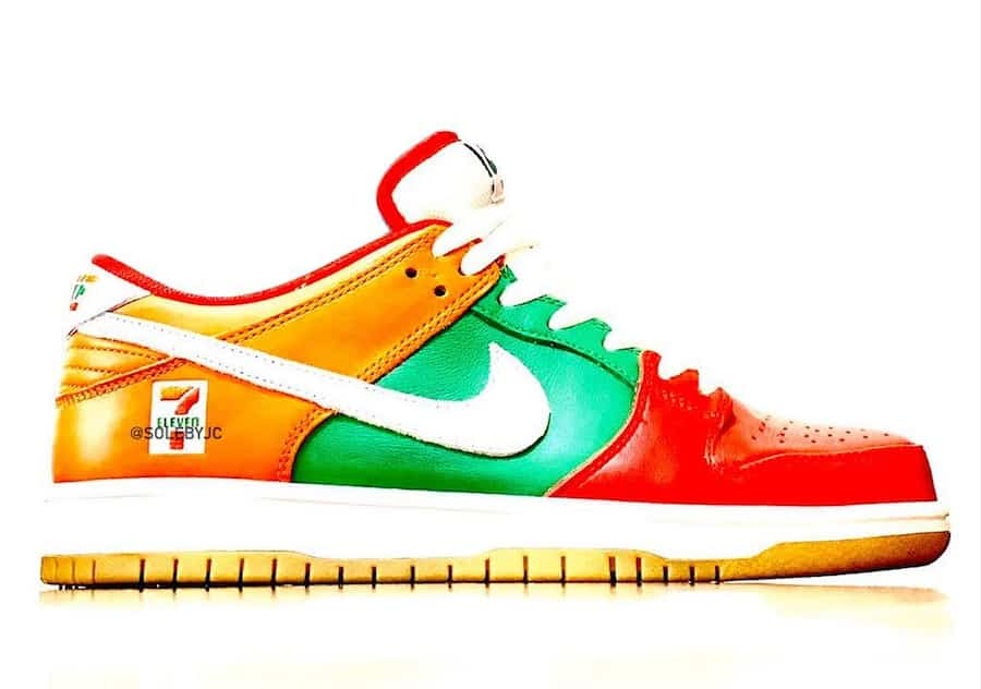 Une collaboration 7 Eleven x Nike SB Dunk Low à venir Le