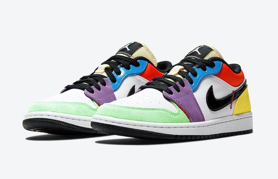 Preview: Air Jordan 1 Low WMNS Multicolor Le Site de la