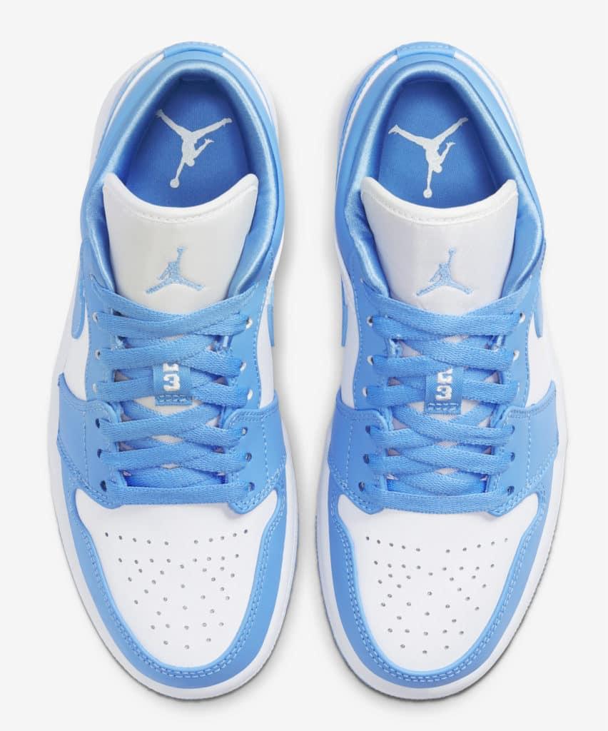 Air Jordan 1 Low WMNS University Blue - Le Site de la Sneaker