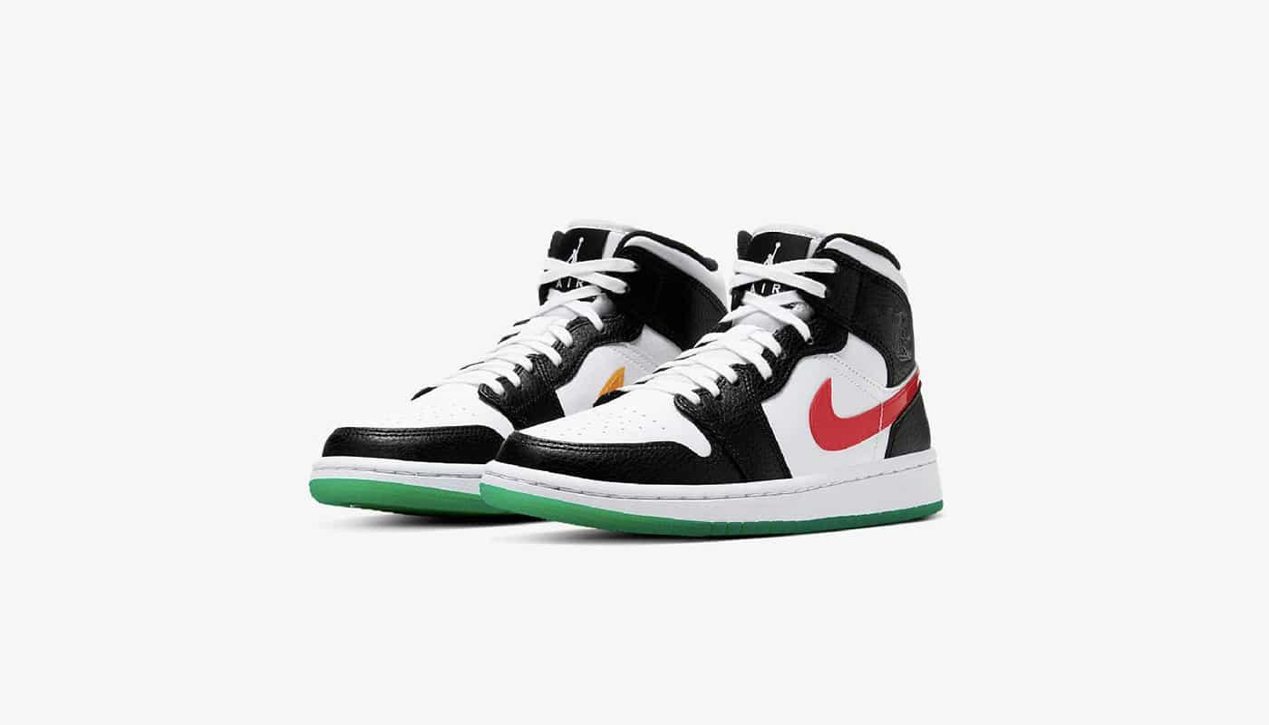 Air Jordan 1 Mid Alternate Swoosh - Le Site de la Sneaker