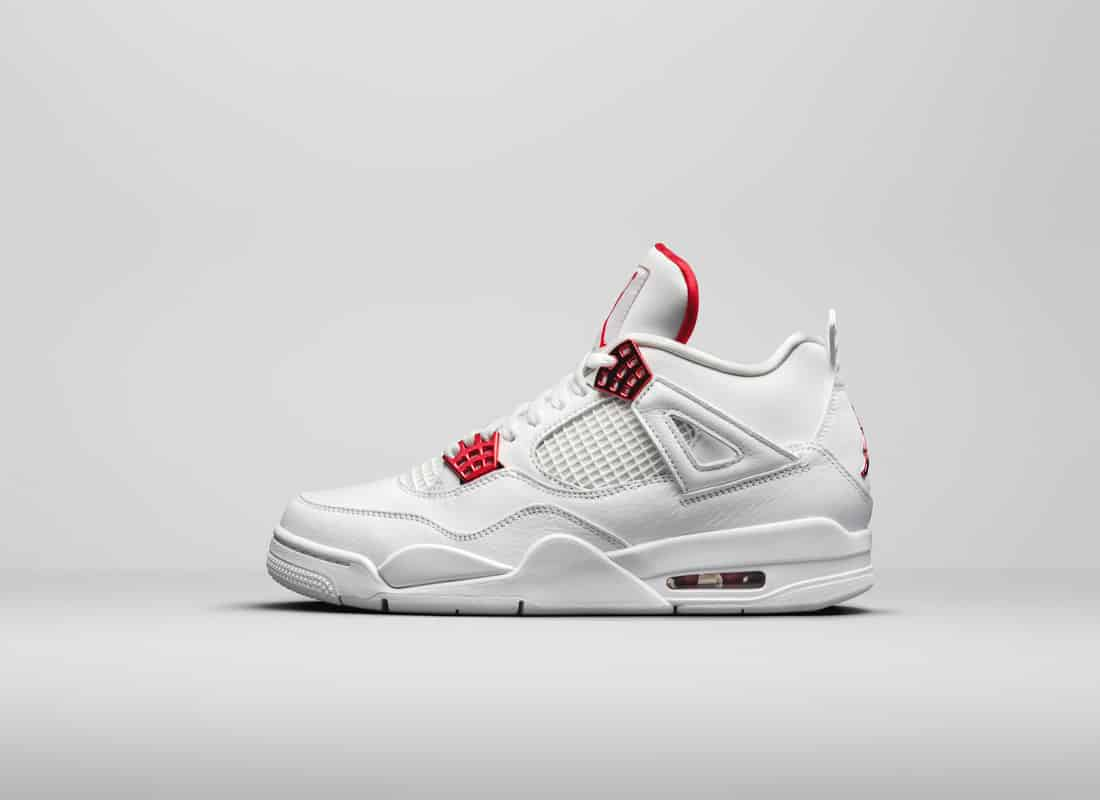 air jordan rouge blanche