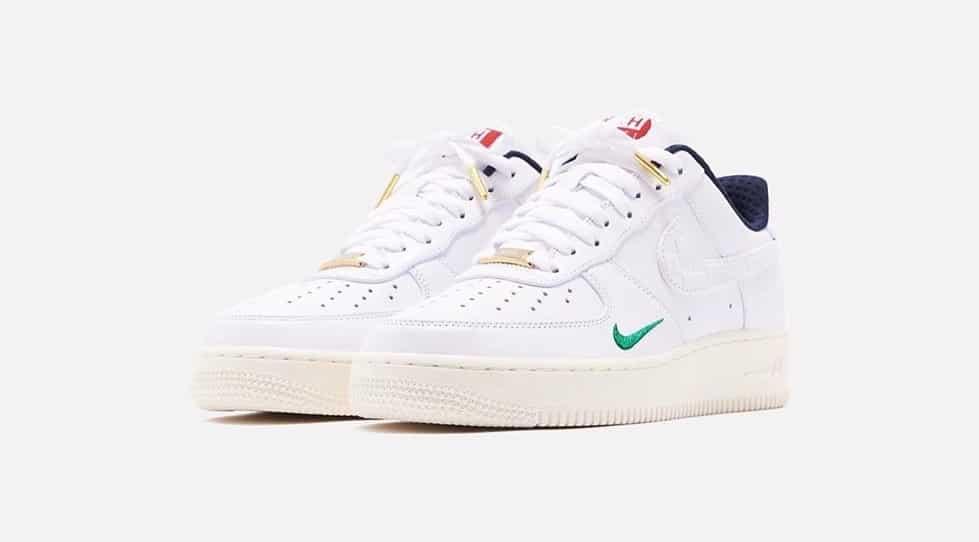 5 paires de KITH x Nike Air Force 1 Low F&F mises en jeu