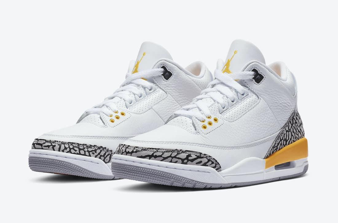 Air Jordan 3 WMNS Laser Orange - Le Site de la Sneaker