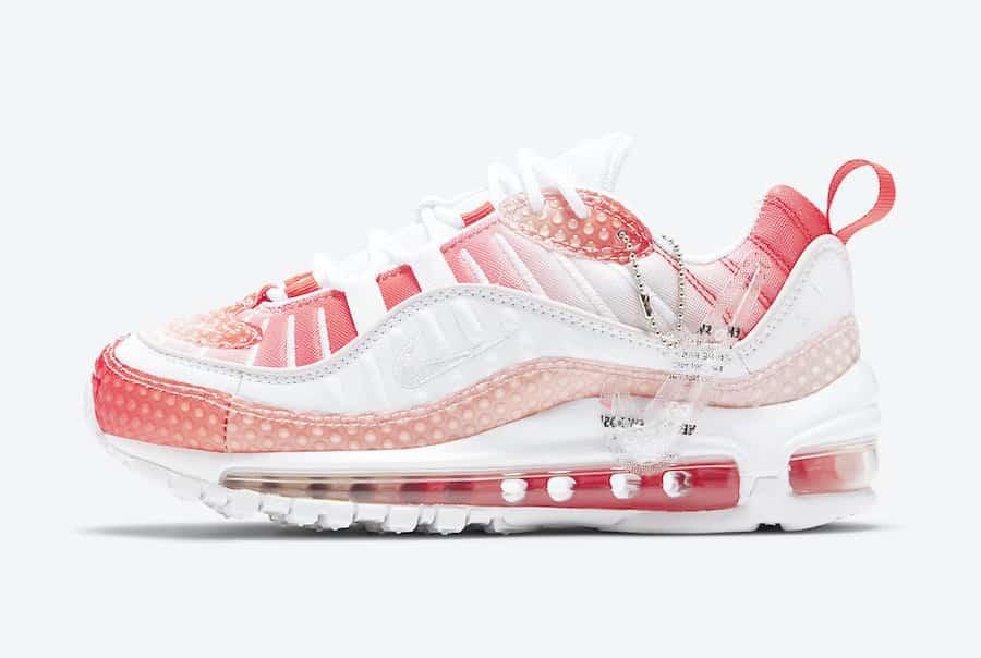 Une Nike Air Max 98 Bubble Barely Rose à l'horizon Le Site